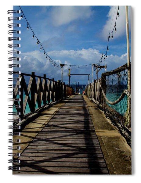The Pier #3 Spiral Notebook
