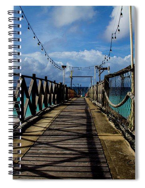 The Pier Spiral Notebook