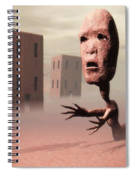 The Politician And I Spiral Notebook