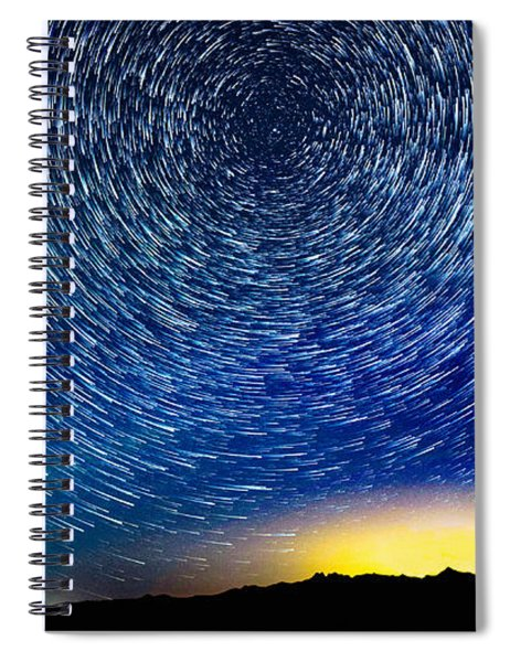 The Power Of Wind Spiral Notebook