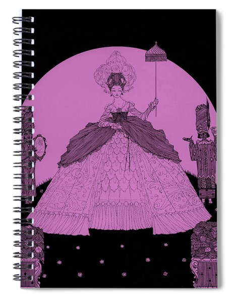 The Princess From The Fairy Tales Of Perrault Spiral Notebook