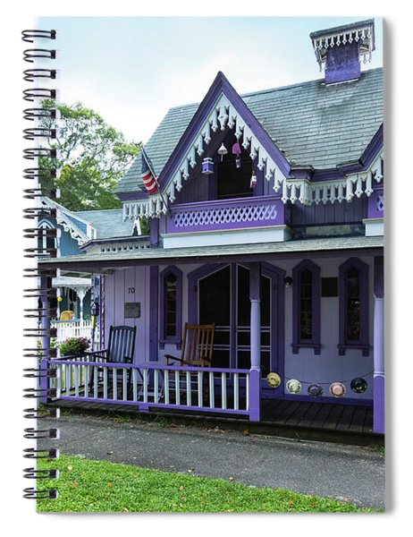 The Purple Lady Spiral Notebook