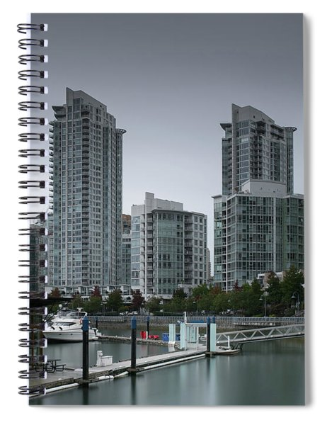 The Quayside Marina - Yaletown Apartments Vancouver Spiral Notebook