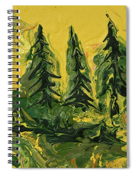 The Quiet Pines Spiral Notebook