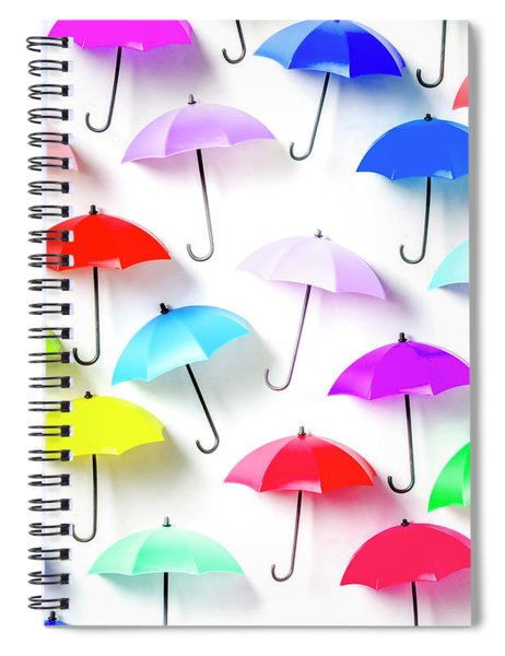 The Rain Collection Spiral Notebook