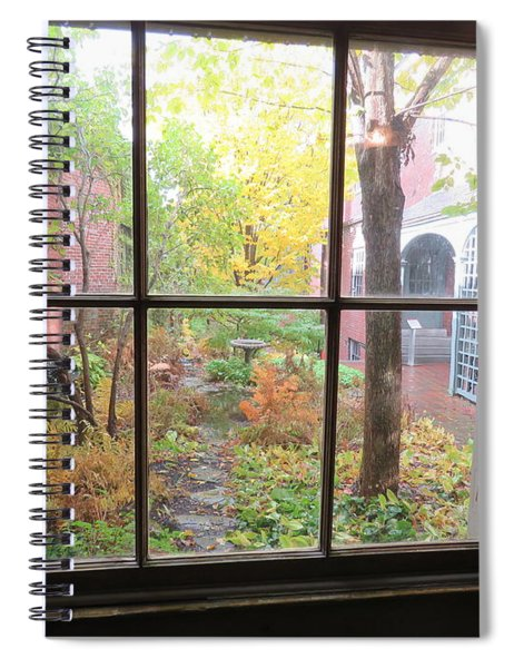 The Rainy Day By Longfellow Spiral Notebook
