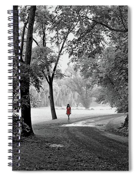 The Red Dress Spiral Notebook