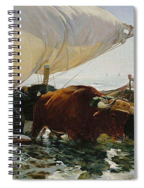 The Return From Fishing, 1894 Spiral Notebook