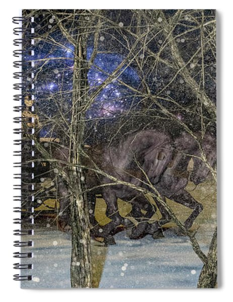 The Ride Never Stops Spiral Notebook
