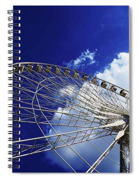 The Ride To Acrophobia Spiral Notebook