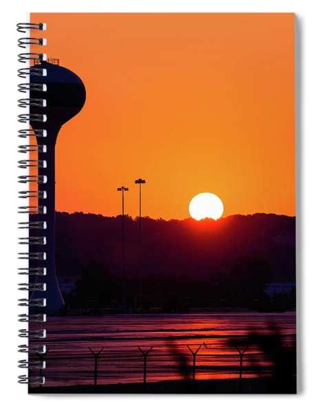 The Rise And The Fall Spiral Notebook