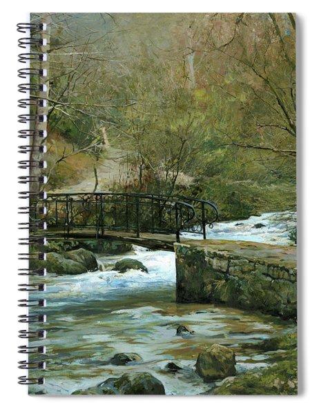 The River Psirzha Spiral Notebook
