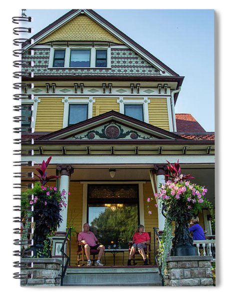 The Rivertown Inn Stillwater Minnesota Spiral Notebook