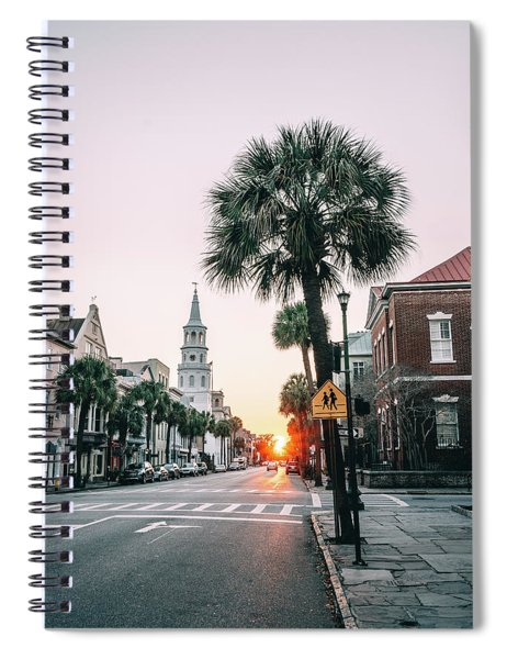 The Road Is Broad Spiral Notebook
