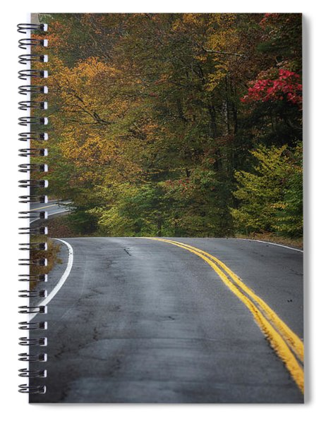 The Road To Friends Lake Spiral Notebook