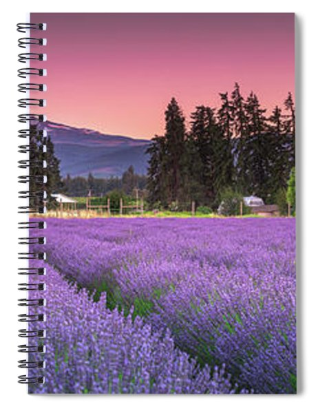 The Road To Mt Hood  Spiral Notebook