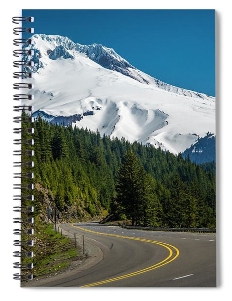 The Road To Mt. Hood Spiral Notebook