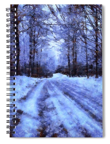 The Road To Winter Spiral Notebook