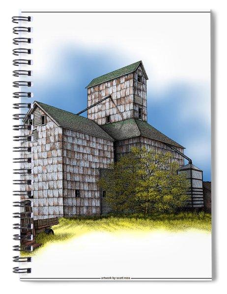 The Ross Elevator Autumn Spiral Notebook