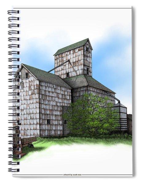 The Ross Elevator Summer Spiral Notebook