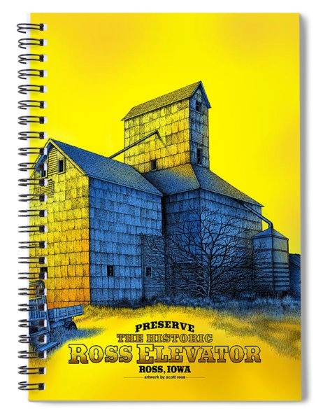 The Ross Elevator Version 4 Spiral Notebook