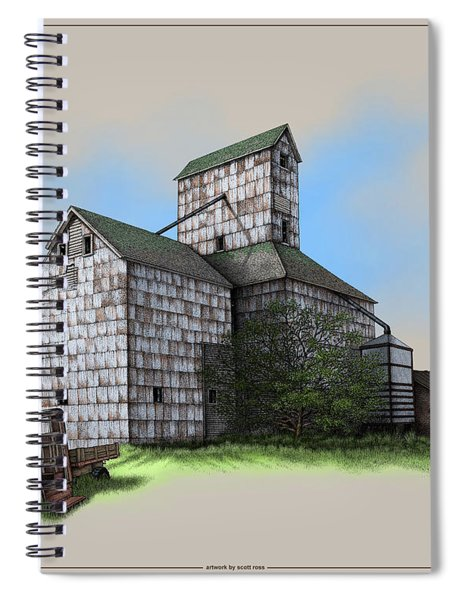 The Ross Elevator Version 5 Spiral Notebook