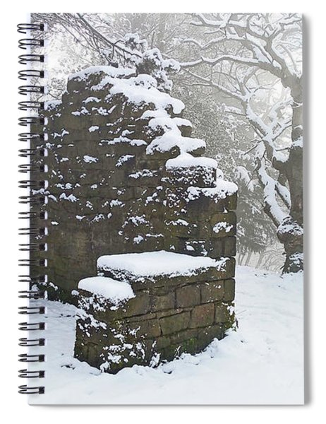 The Ruined Bothy Spiral Notebook