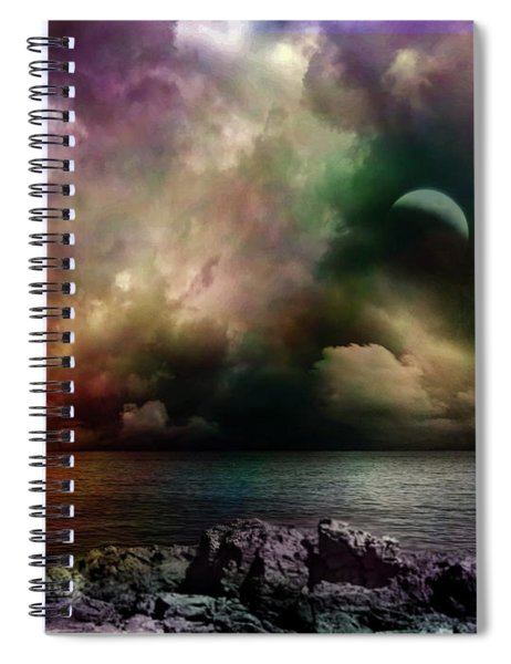 The Sacred Storm Spiral Notebook