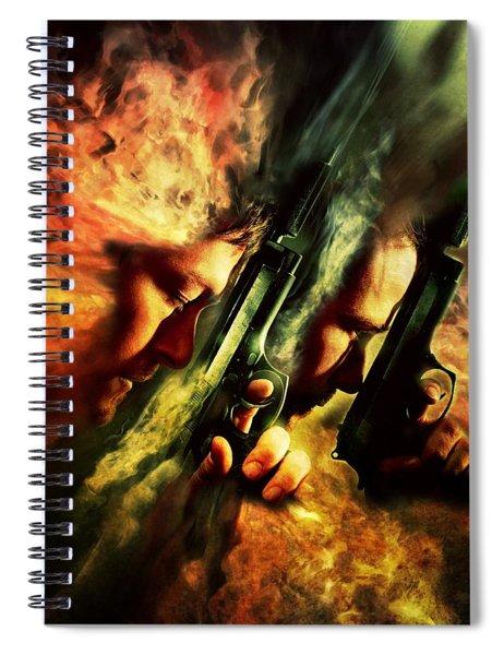 The Sandstorm Saints Spiral Notebook