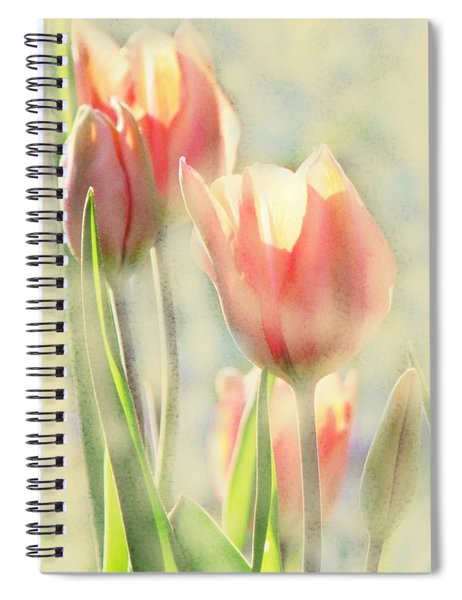 The Scent Of Tulips Spiral Notebook