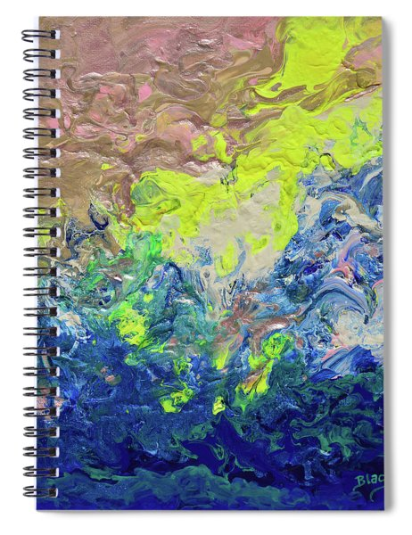 The Sea Once Tranquil Spiral Notebook