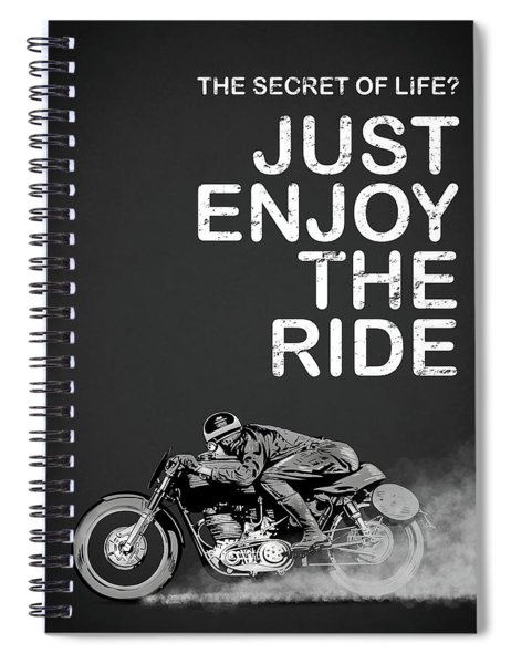 The Secret Of Life Spiral Notebook