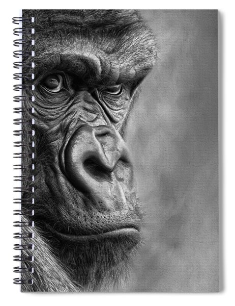 The Serious One Spiral Notebook