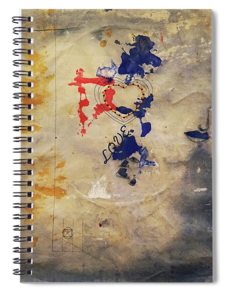 The Shadows Of Love Spiral Notebook