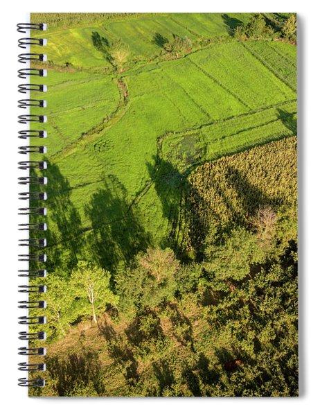 The Shadows  Spiral Notebook