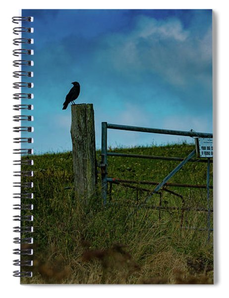 The Sheep That Hates Dogs Spiral Notebook