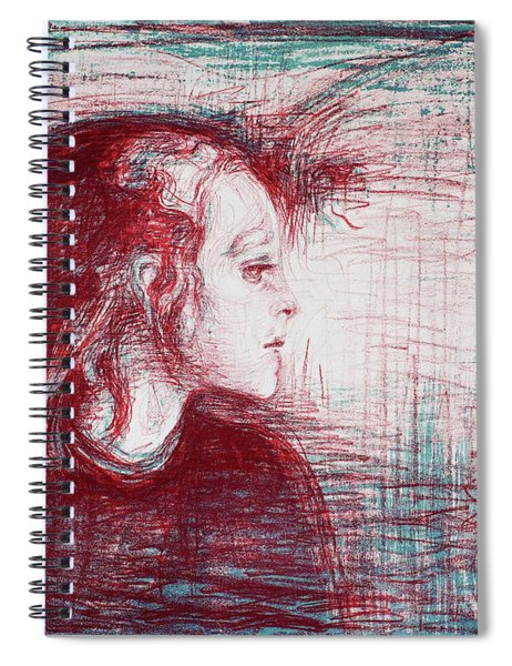 The Sick Child - Digital Remastered Edition Spiral Notebook