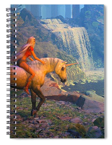 The Silver Horn Spiral Notebook