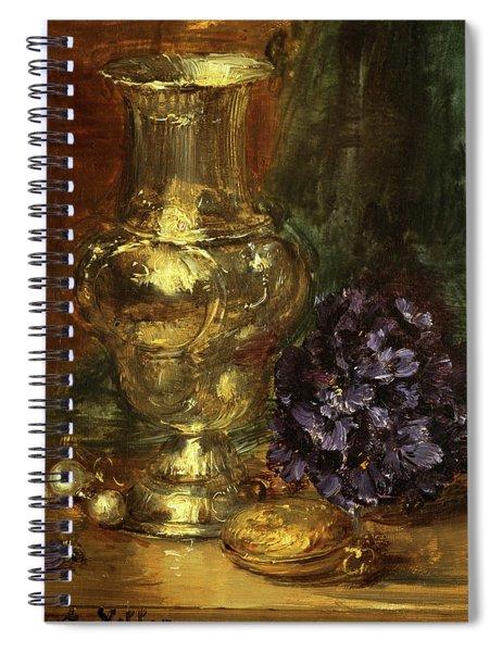 The Silver Vase Spiral Notebook