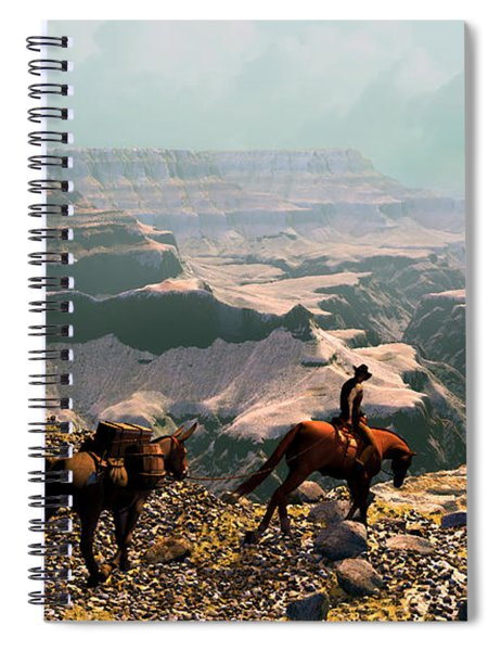 The Sinking Earth Spiral Notebook