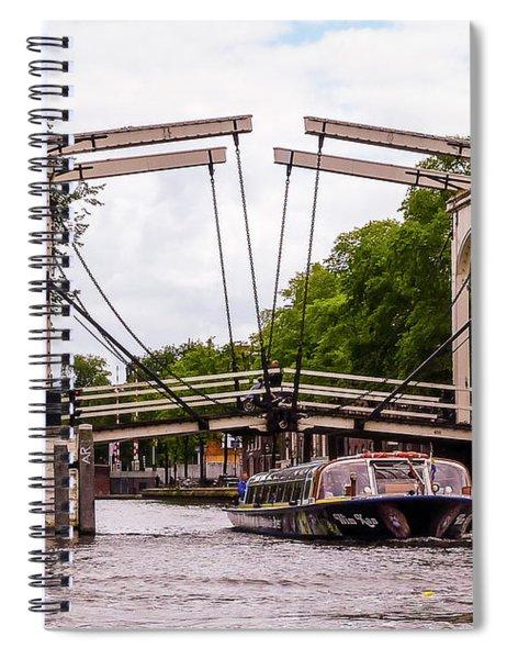 The Skinny Bridge Amsterdam Spiral Notebook