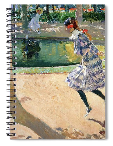 The Skipping Rope - Digital Remastered Edition Spiral Notebook