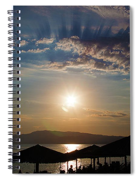 the Sky above Us Spiral Notebook