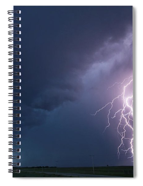 The Sky Is Alive Spiral Notebook