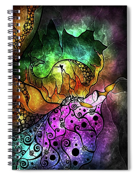 The Sleeping Beauty Spiral Notebook