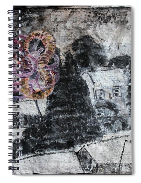 The Slow And Winding Tale Of Destruction Spiral Notebook