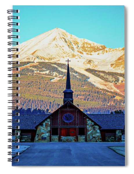 The Soldiers Chapel Spiral Notebook