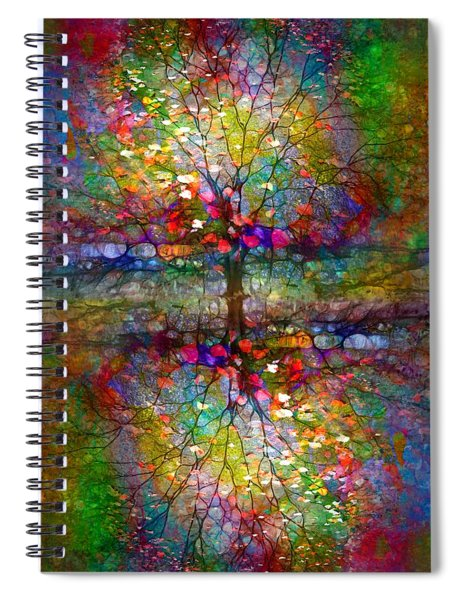 The Souls Of Leaves Spiral Notebook