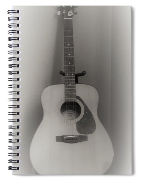 The Sound Of Six Strings Spiral Notebook