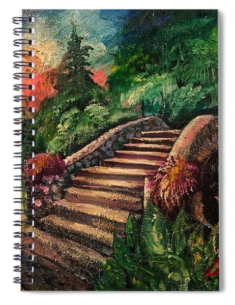 The Spirit Bridge At City Park  Spiral Notebook